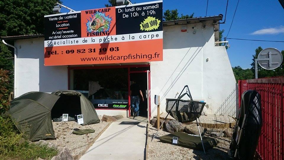 magasin de pêche à la carpe